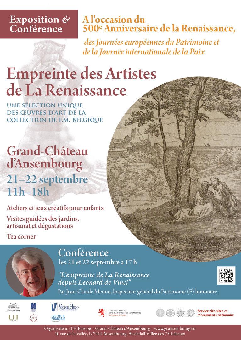 Grand Chateau Ansembourg - Accueil